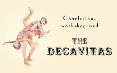Charleston-workshop med the DecaVitas i höst!